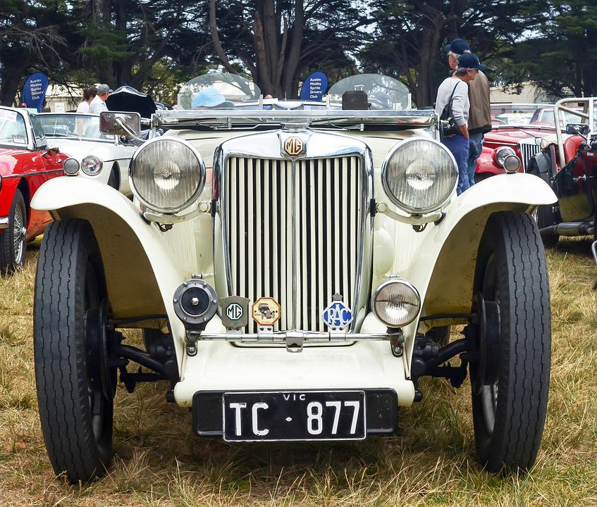 Mg, Mg Td, Td, Old Car, Vintage Car, Vintage