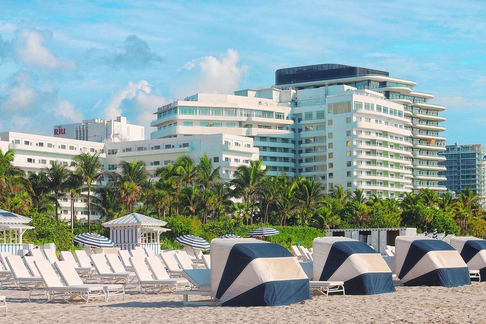 Beach, Miami Beach, Resort, Sand, Usa, Hotel