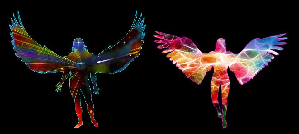 Archangels, Michael, Cherub, Cosmos, Spiritual, Oneness