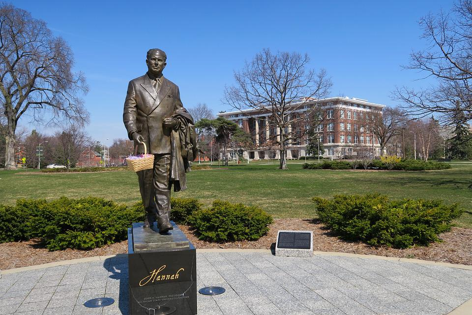 Sculpture, University, Michigan State University
