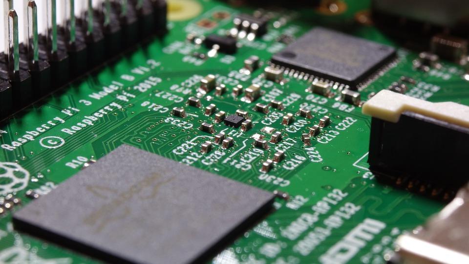 Raspberry Pi, Raspi, Electronics, Microchip