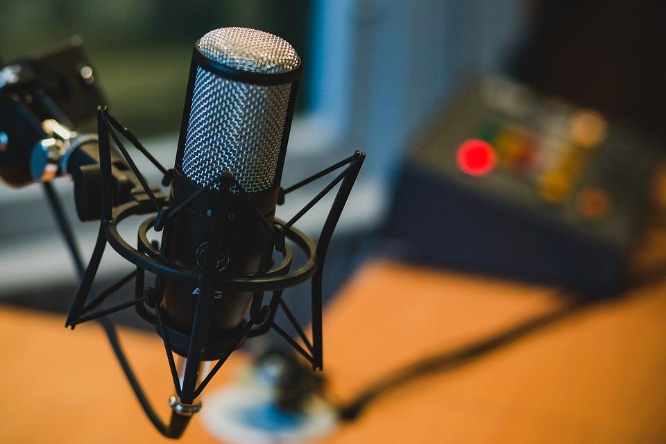 Microphone, Audio, Recording, Podcast, Music