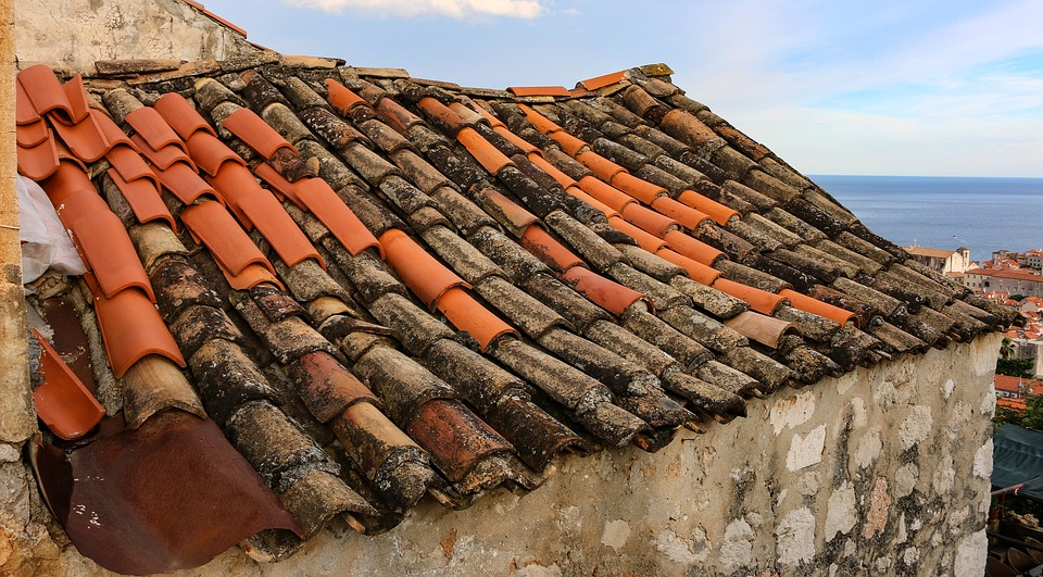 Dubrovnik, Ancient, Roof, Tile, Middle Ages