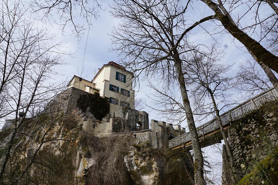 Castle, Fridingen, Nature, Middle Ages