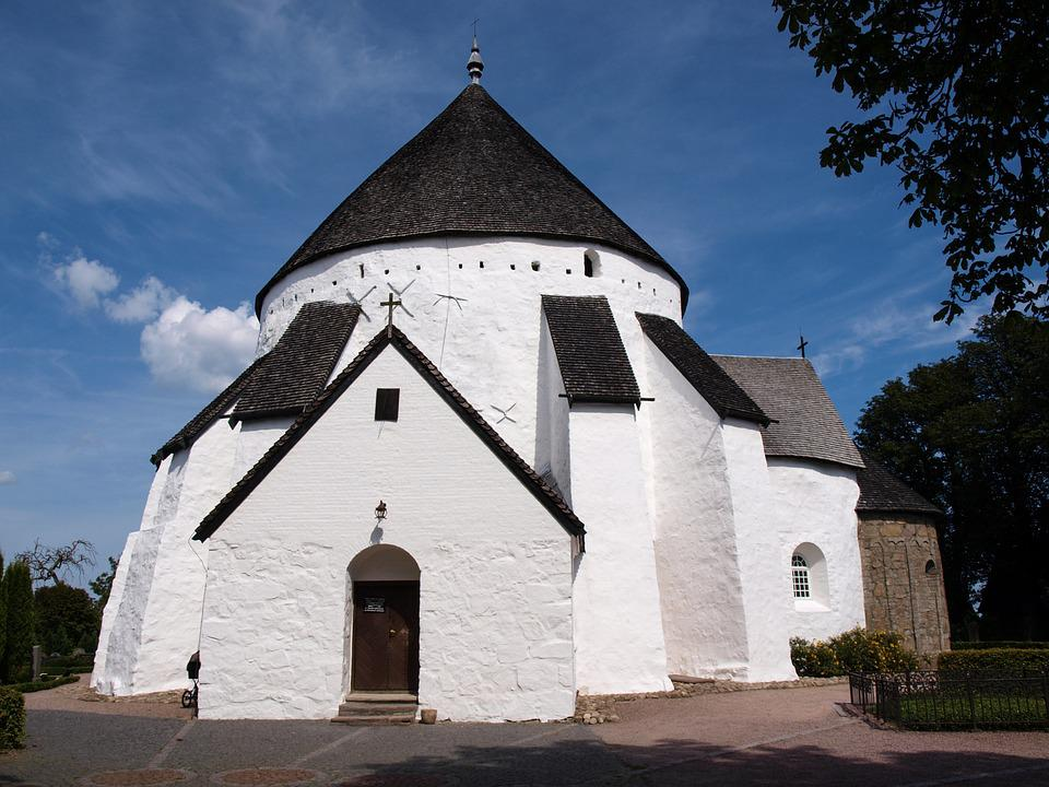 Church, Fortified Church, About, Middle Ages, Denmark