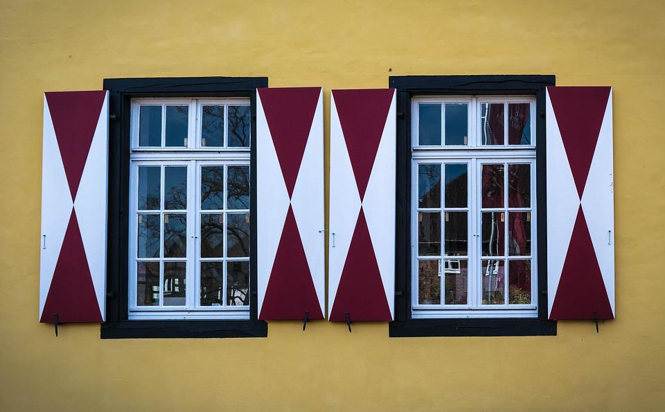 Window, Shutter, Protection, Facade, Middle Ages