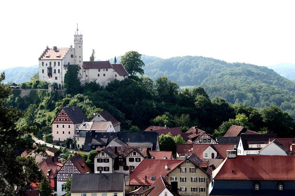Castle, Middle Ages, Village, Gößweinstein, Fortress