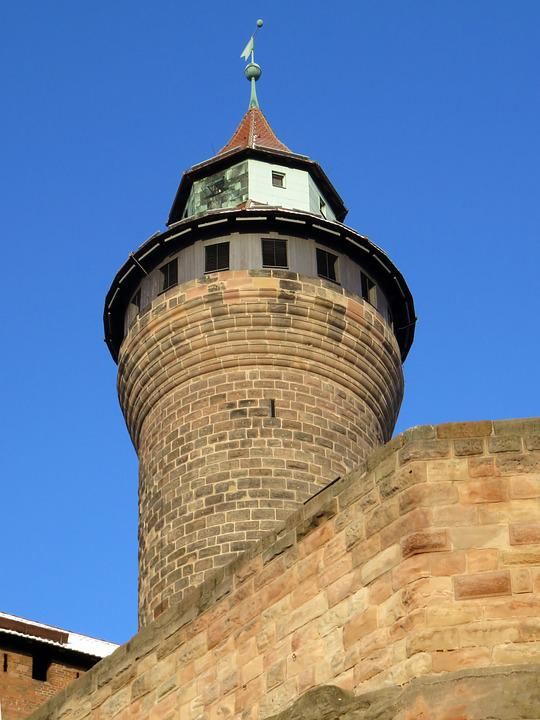 Imperial Castle, Nuremberg, Tower, Castle, Middle Ages