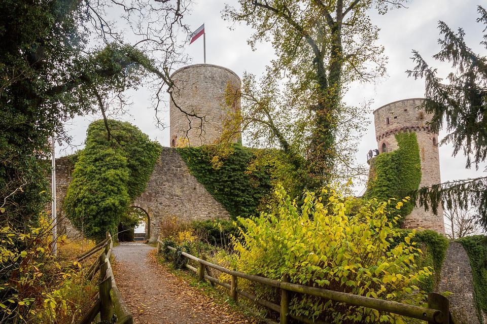 Nagold, High Nagold, Ruin, Castle, Middle Ages