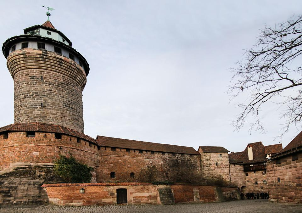 Nuremberg, Castle, Imperial Castle, Middle Ages, Tower