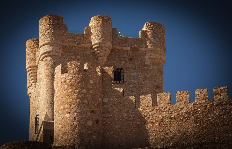 Castle, Middle Ages, Old, Battlements, Medieval, Tower