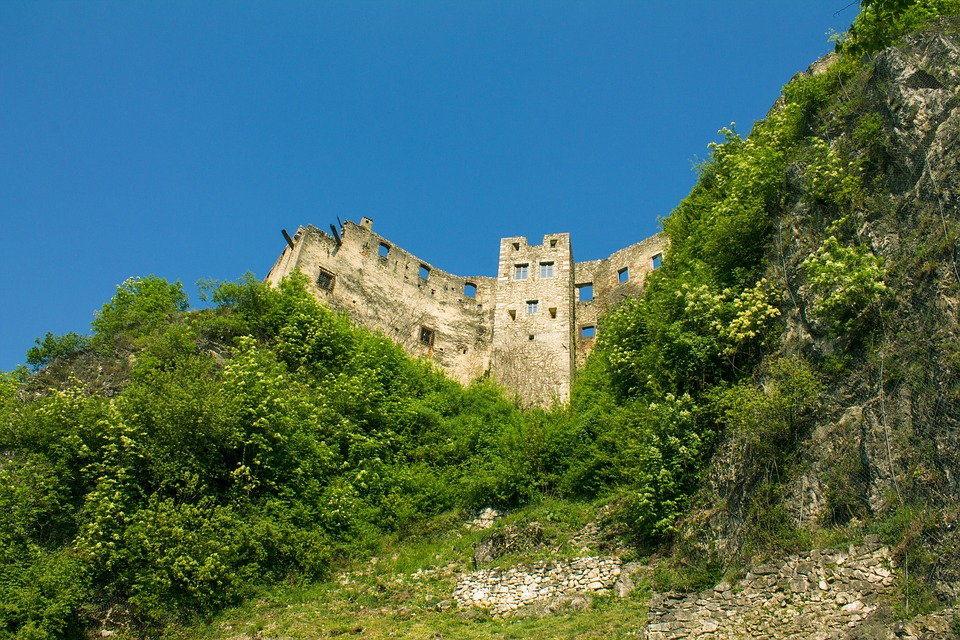 Ruins, Old, Castle, Middle Ages, History, Monument