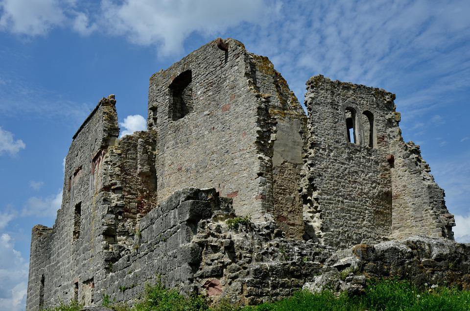 Homburg Castle Ruins, Middle Ages, Ruin, Masonry