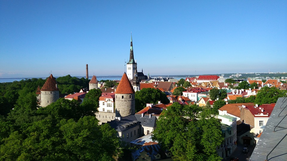 Tallinn, Estonia, Historic Center, Church, Middle Ages