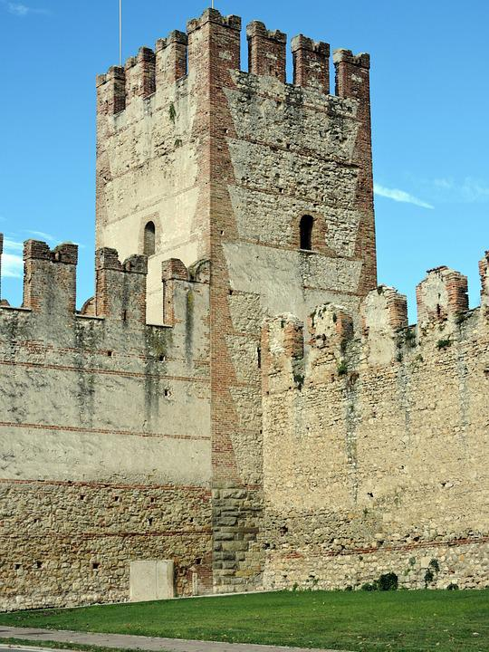 Torre, Wall, Middle Ages, Stone, Veneto, Sweet, Italy