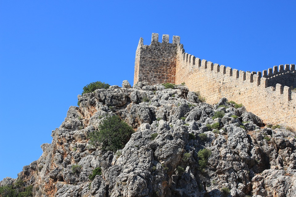 Ruin, Fortress, Middle Ages, Tower, View, Masonry