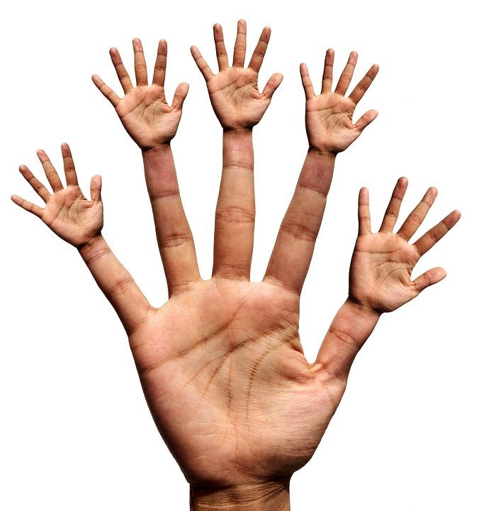 Hand, Hands, Finger, Thumb, Index Finger, Middle Finger