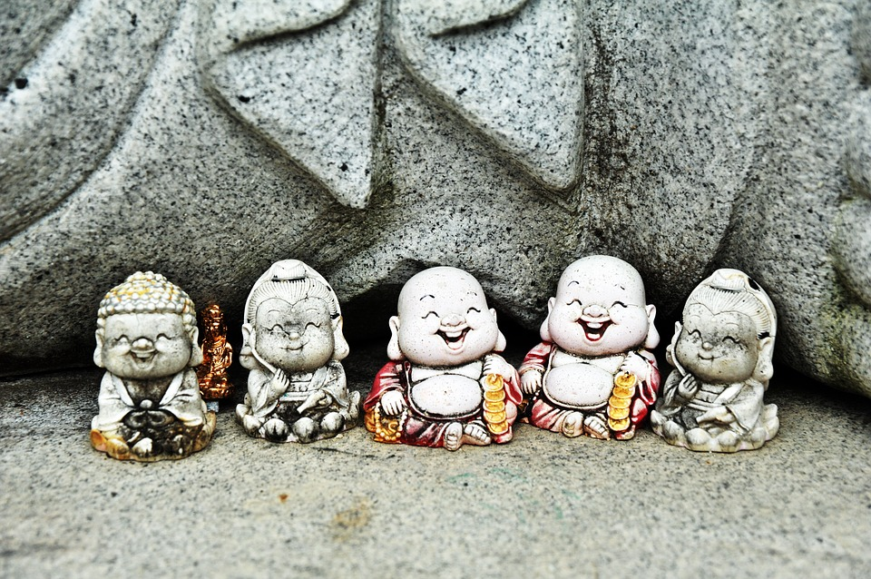 Middle School, Swelling, Buddhism, Sculpture, Religion