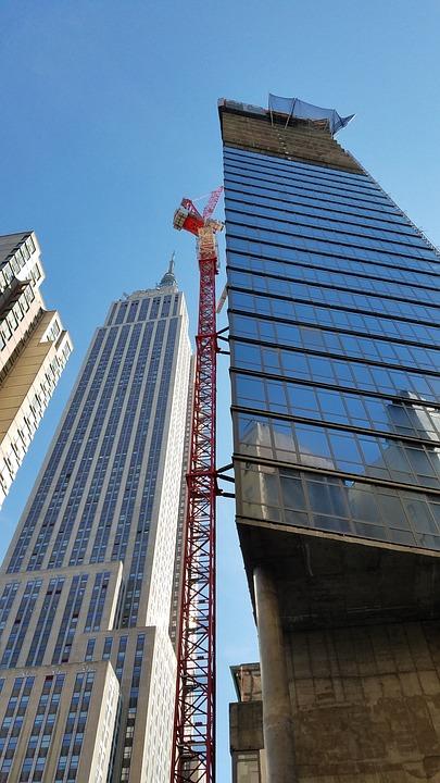 Construction, Nbc, Manhattan, Middtown, Architecture