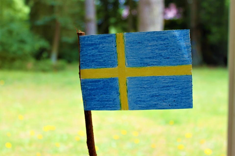 Swedish Flag, Sweden's Flag, Midsummer Summer Vacation