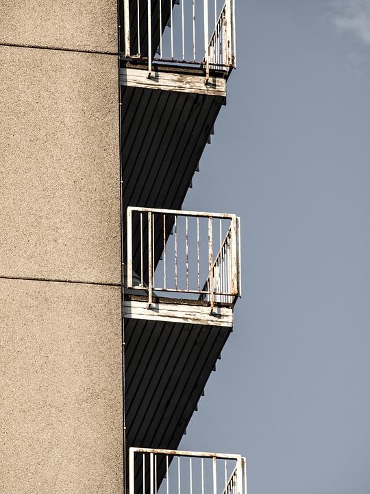 Balconies, Skyscraper, Mietkaserne, Architecture