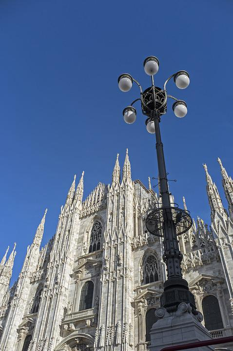 Milan, Italy, Duomo, Architecture, Cathedral Church