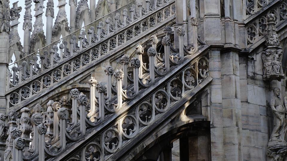 Gothic Cathedral, Milan Duomo, Church