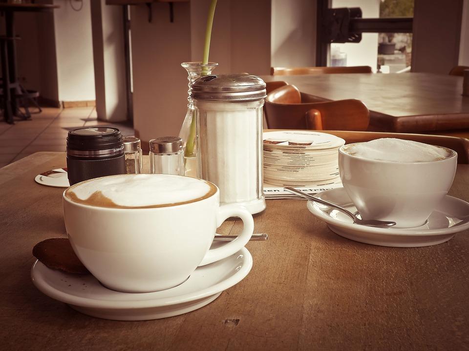 Coffee, Café Au Lait, Cup, Drink, Milchschaum