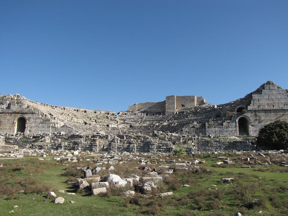 Miletus, Amphitheatre, Turkey