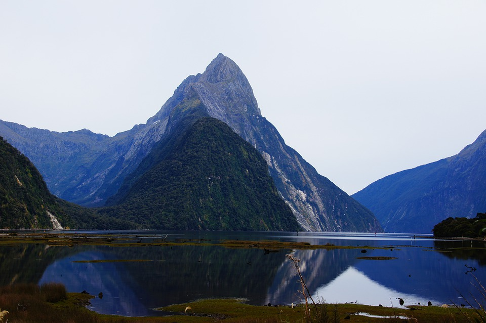 Milford Sound, New Zealand, Lord Who Rings, Hobbit