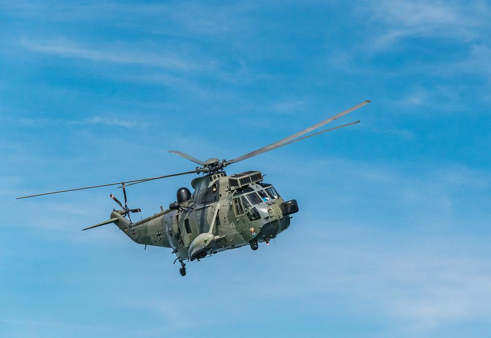Helicopter, Military, Sky, Army, Navy, Flying