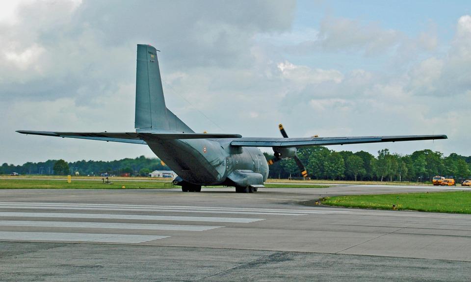 Plane, Aircraft, Vliegterrein, Military Branch