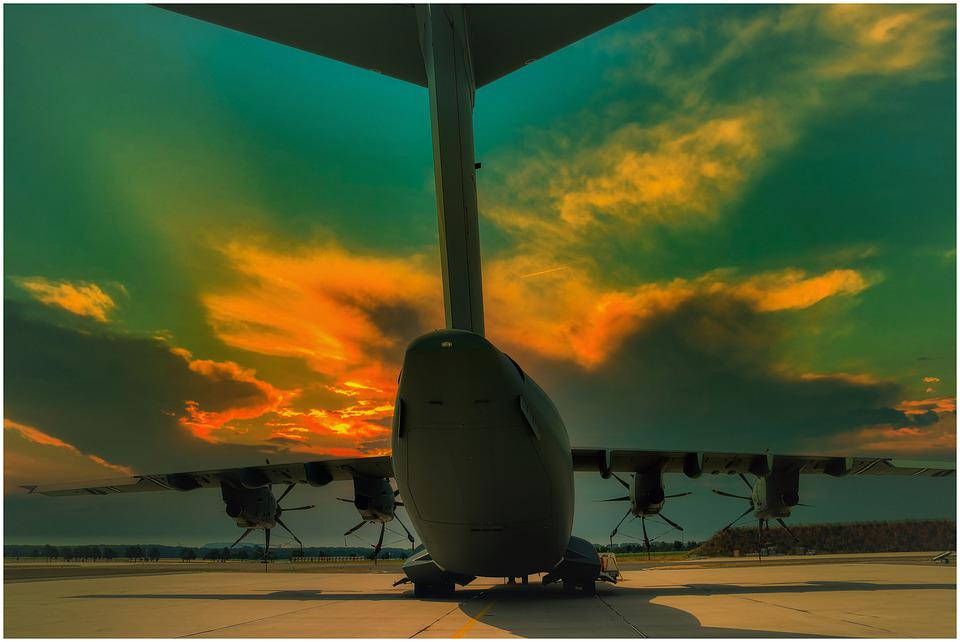 Aircraft, Bundeswehr, Airbus, Military, Flying