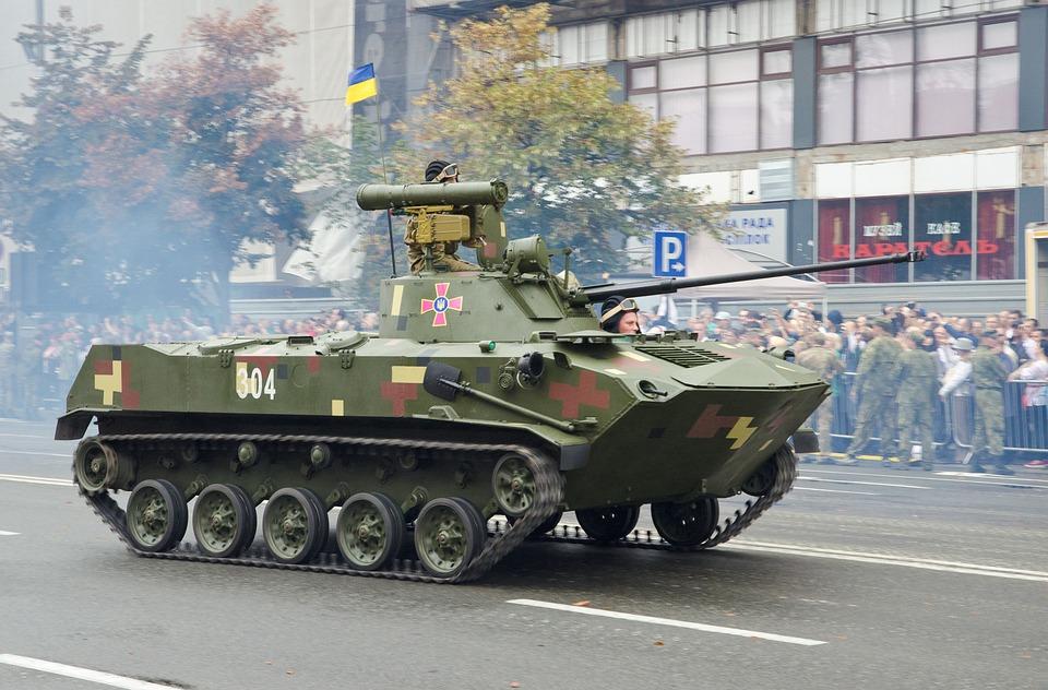 Machinery, Army, Parade, Military, Ukrainian, Capital
