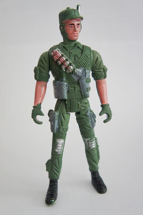 Soldier, Toy, Entertainment, Military, For Children