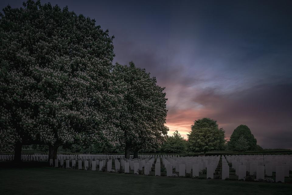 Military, Cemetery, Grave, Soldier, Graveyard, Memorial