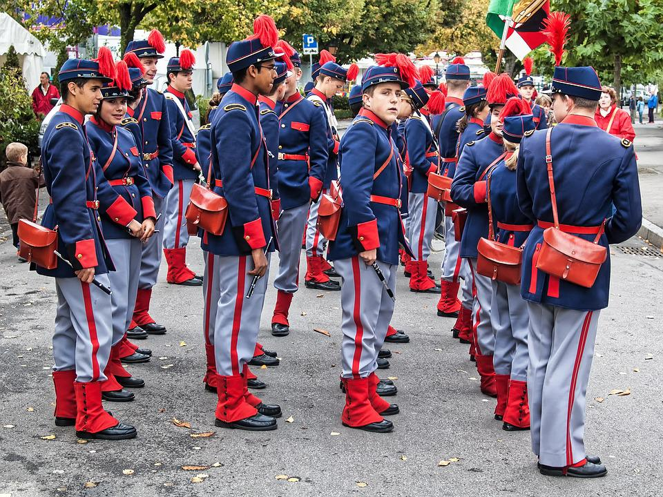Military, Cadets, Music, Force