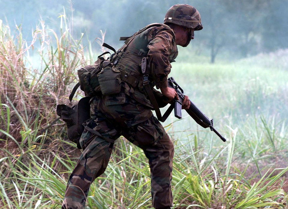 Soldier, Military, Usa, Weapon, War, Fight, Rifle
