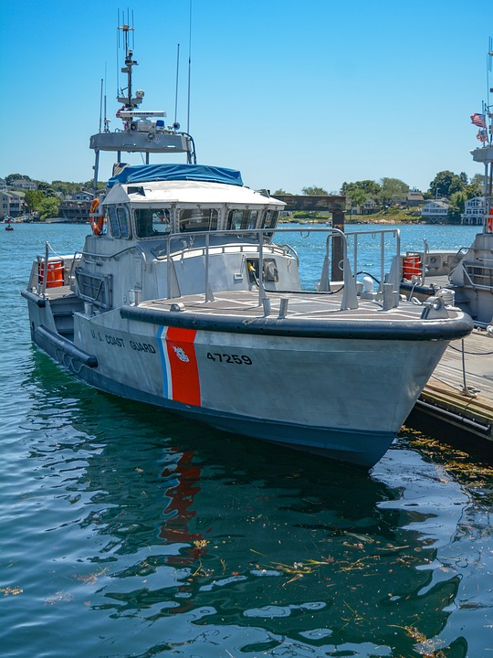 Coast Guard, Boat, Gloucester, Ma, Security, Military