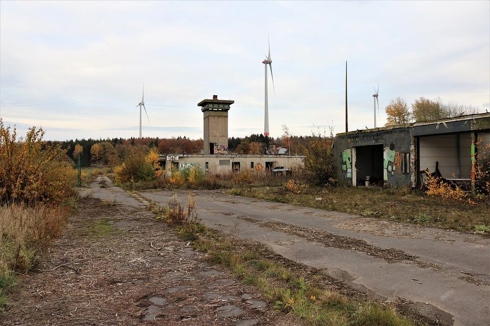 Nike Position, Military Site, Watchtower, Abandoned