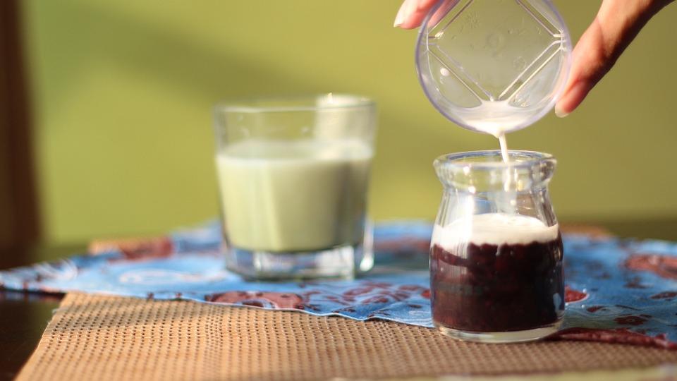 Milk, Matcha, Dessert