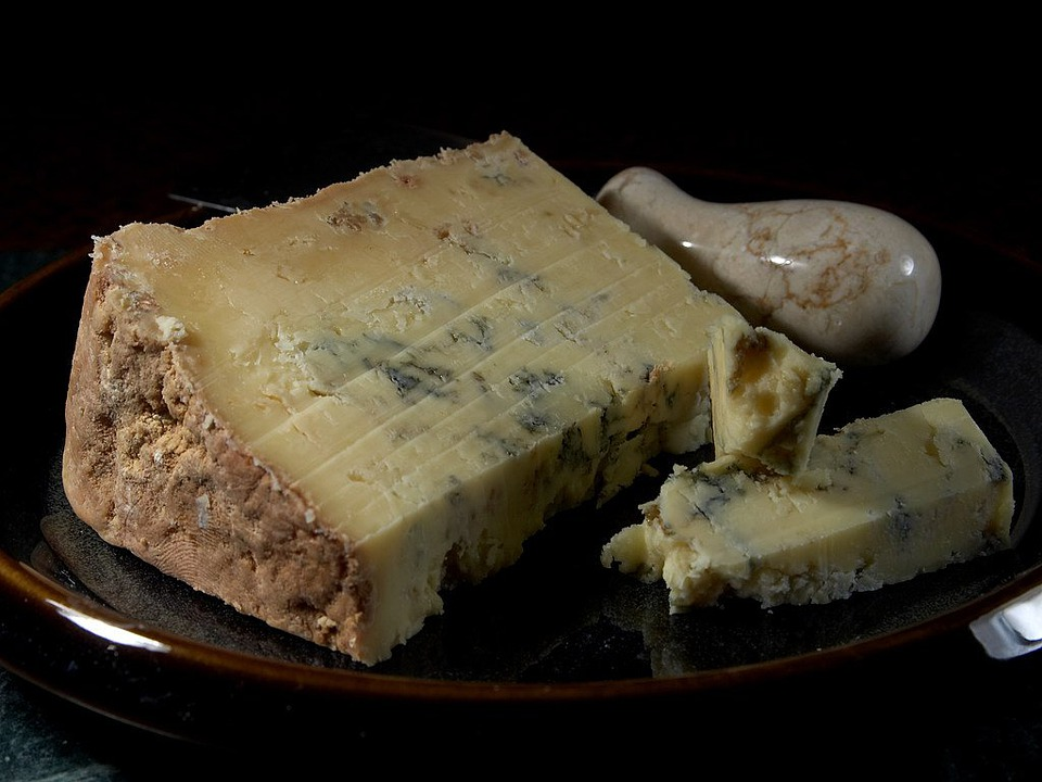 Dorset Blue Vinney Cheese, Milk Product, Food