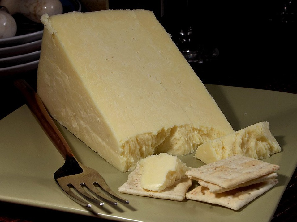 Caerphilly Cheese, Milk Product, Food, Ingredient, Eat