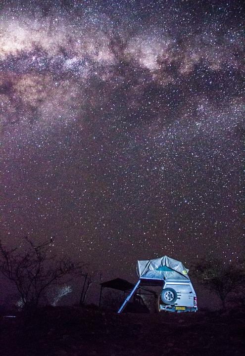 Tent, Stars, Milky Way, Milky, Landscape, Tourist