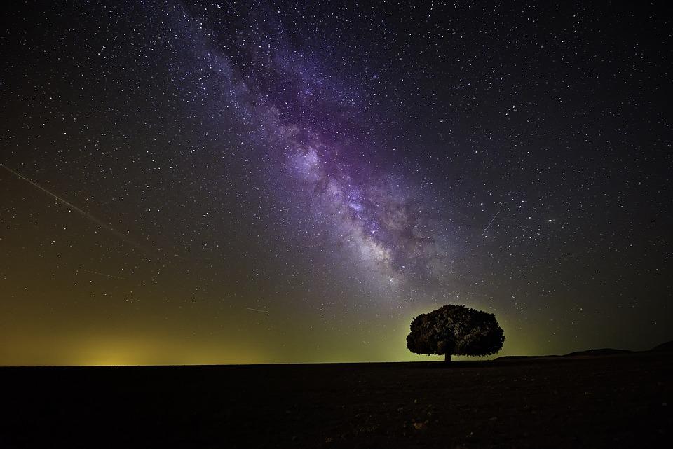 Cosmos, Dark, Hd Wallpaper, Milky Way, Night