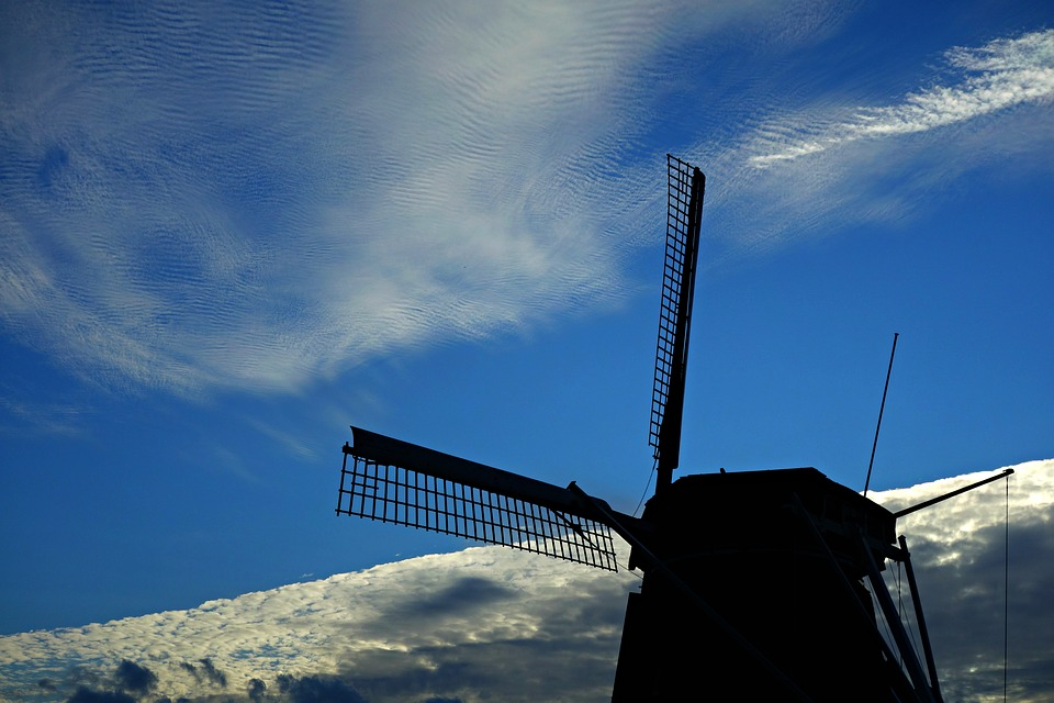 Windmill, Mill, Sail, Dutch Windmill, Holland