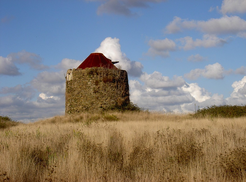 Windmill, Mill, Wind, Old