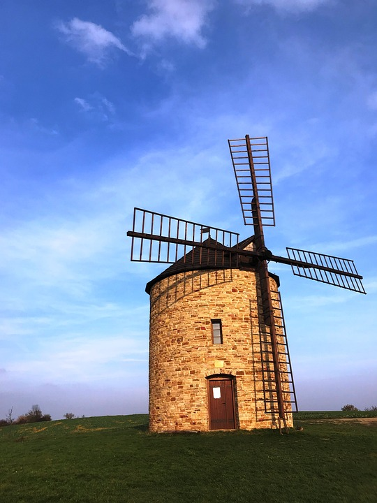 Mill, Windmill, Scoop, Whiffle