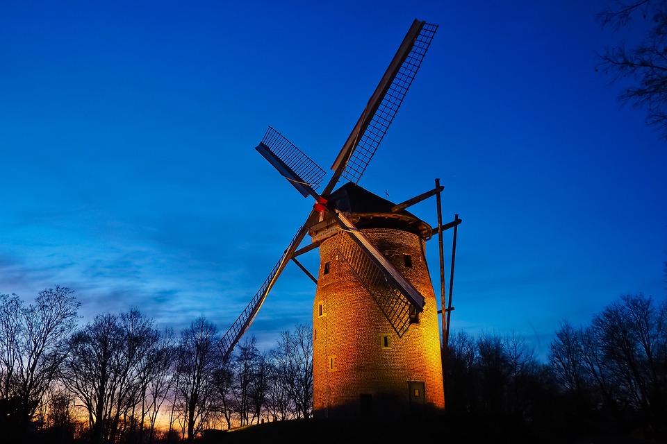 Mill, Tower Windmill, Windmill, Historically
