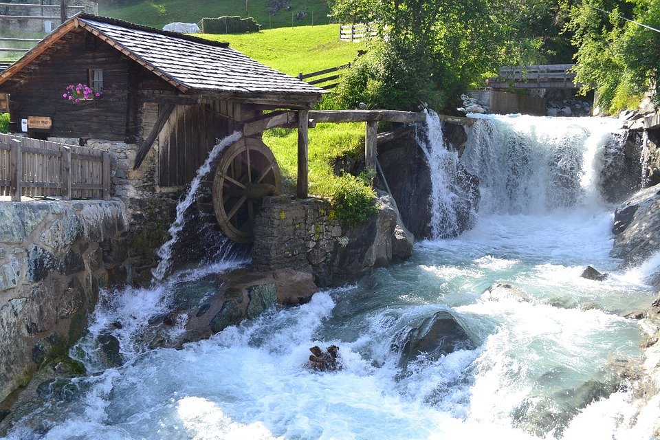 Ibukun, Mill, Prägraten, East Tyrol, Water Wheel Mill